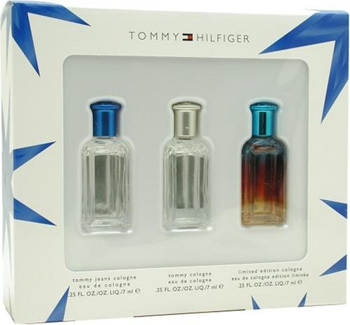 Tommy Hilfiger Variety By Tommy Hilfiger For Men Gift Set mini / 3 Piece x 7ml (4mua HPE-T14MEN)