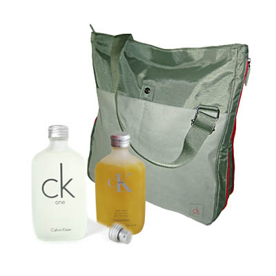 CK One Gift Set Perfume for Men / EDT 100ml (bonmua HPE-CK2A1)