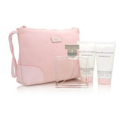 Romance by Ralph Lauren for Women 4 Piece Set / EDP 100ml (bonmua HPE-RL8B1)