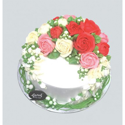 Wedding cake 25cm (4mua VOT-006W25SN377)
