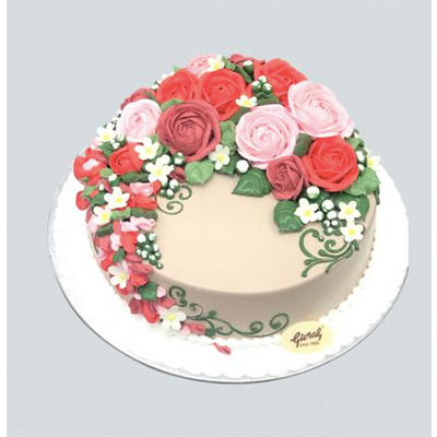 WEDDING CAKE 25CM (4MUA VOT-006W25SN378)