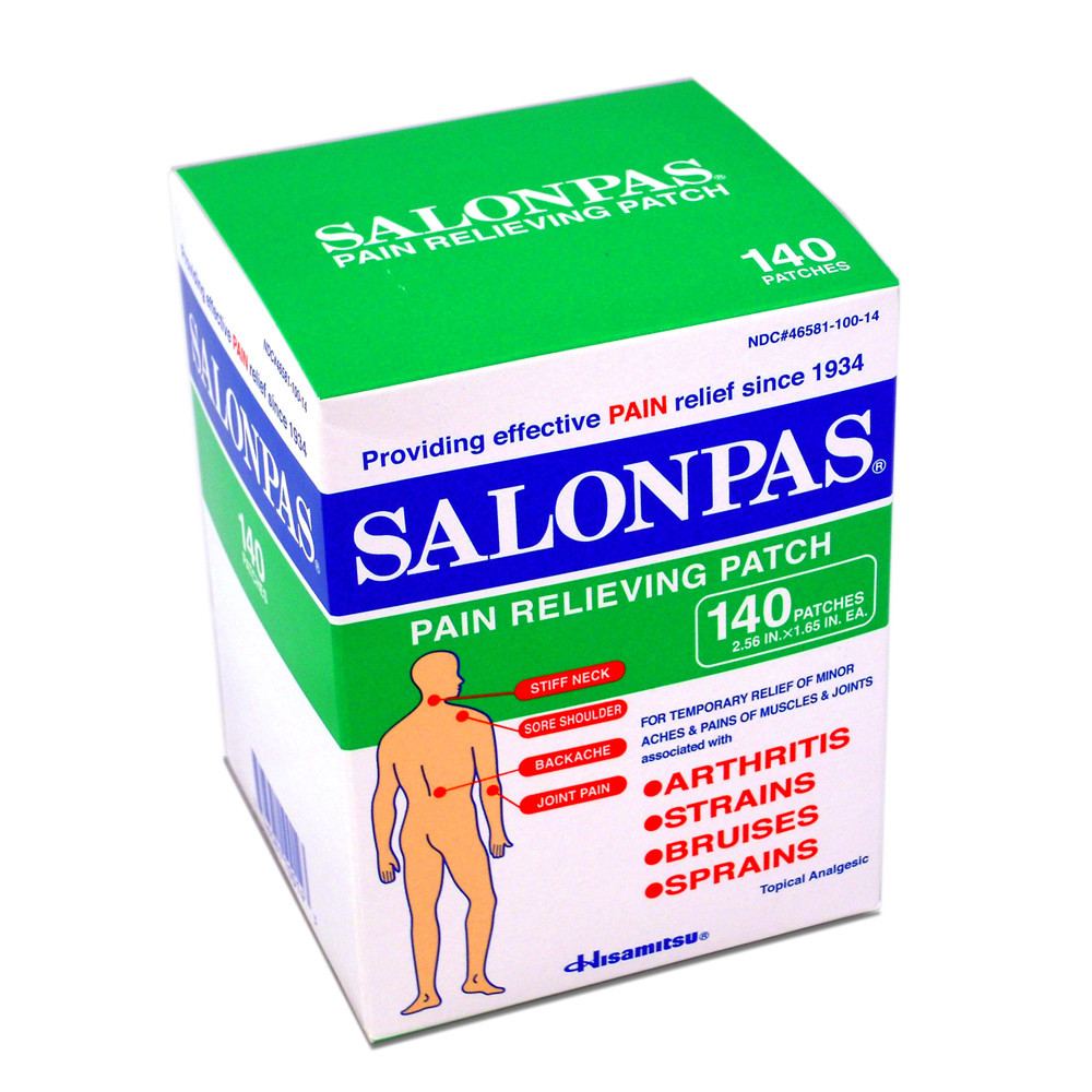 Salonpas 140 pieces (4mua VOT-019A)